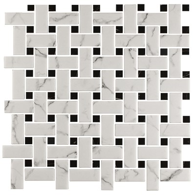 carrara with nero dot 305669