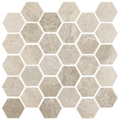 2.5x2.5 hexagon mosaic 300399