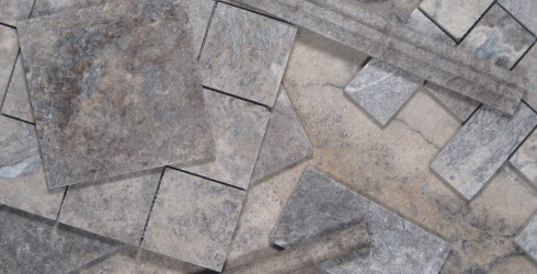Pewter Travertine