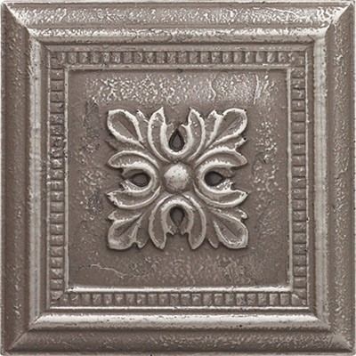 brushed nickel fleur deco 237338