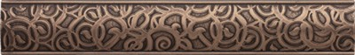 antique bronze nouveau border 237371