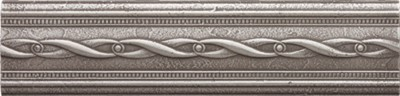 brushed nickel empress border 237374