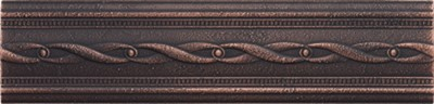 dark oil rubbed bronze empress border 237373