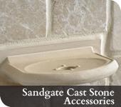 Sandgate Cast Stone Accessories