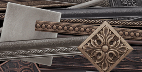 Premium Cast Metal Tiles A Beautiful Accent New Shapes And Finishes