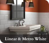 Linear & Metro White