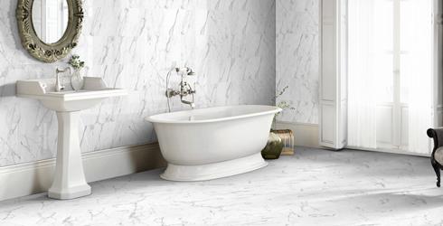 Cesaretto Ceramic And Porcelain - 13x13 white ceramic floor tile