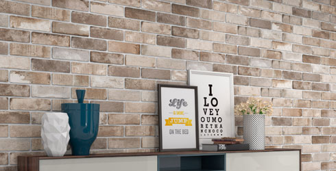 Specialty Brick Is A Porcelain Tile Available In Trendy 3 X 10 Rectangular Format Creative Blend Of Urban Look And Washed Color Tones