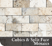 Cubics and Split Face Mosaics