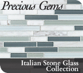 Italian Stone Glass Collection