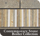 Contemporary Stone Border Collection