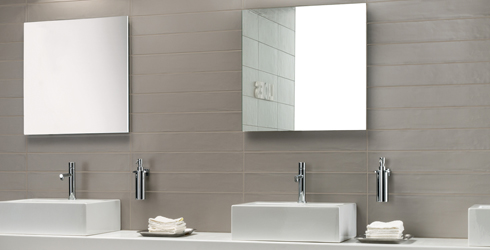 Soothe Is A Sophisticated Italian White Body Ceramic Wall Tile Showcasing Modern 4 X24 Format In Seven Contemporary Tones Incorporates Subtle
