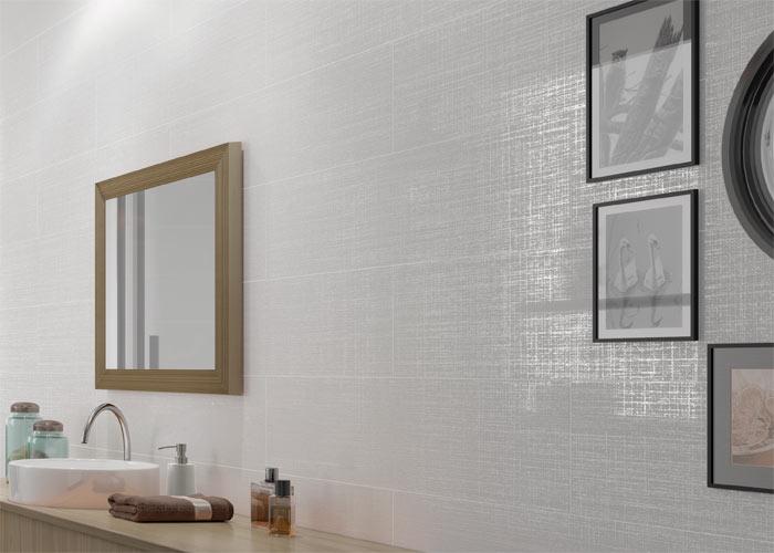 Electric Linen Porcelain Tile
