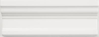 Superb Satin White 3x8 Large Chair Rail .187627