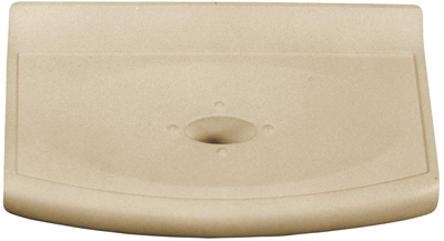 Sandgate Metro Bath Accessories Travertine 4x6 Wall Soap .268645. Cast Stone